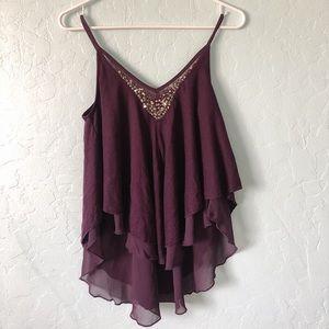 Purple Camisole